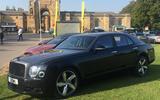 Bentley Mulsanne - front