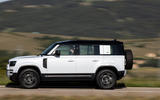 2 Rover Defender PHEV 2021 UK FD hero side