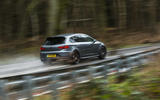 Seat Leon Cupra R 2018 UK review on the road rear