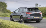 Seat Leon Cupra R ST Abt 2019 UK first drive review - hero rear