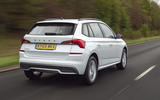 Skoda Kamiq 2019 UK first drive review - hero rear
