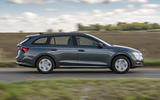 2 Skoda Octavia E Tec hybrid 2021 UK first drive review hero side
