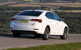 Skoda Octavia IV 2020 first drive review - hero rear