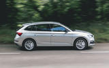 Skoda Scala 1.5 TSI SE 2019 UK first drive review - hero side