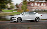 Skoda Superb iV 2020 first drive review - hero side