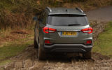 SSangyong Rexton longterm review off road rear