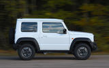 Suzuki Jimny 2018 UK first drive review - hero side