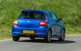 Suzuki Swift Attitude 2019 UK first drive review - hero rear