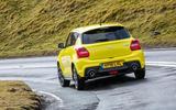 Suzuki Swift Sport 2018 review hero rear