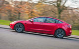 Tesla Model 3 Standard plus 2020 UK first drive review - hero side