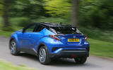 Toyota C-HR 2018 long-term review hero rear