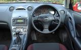 Toyota Celica - interior