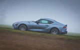 2 Toyota GR Supra 2 litre 2021 UK first drive review hero side