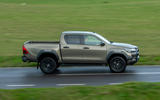 Toyota Hilux Invincible X 2020 UK first drive review - hero side