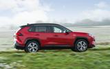 2 Toyota RAV4 PHEV 2021 UK first drive review hero side