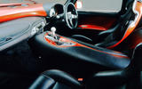 TVR Sagaris 2005 - interior