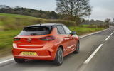Vauxhall Corsa-e 2020 UK first drive review - hero rear