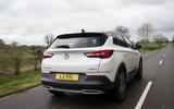 Vauxhall Grandland X 1.5 Turbo D 2018 first drive review - hero rear