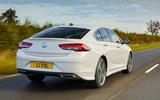 2 Vauxhall Insignia SRI VX line 2021 UK FD hero rear