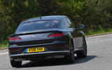 Volkswagen Arteon 1.5 EVO 2018 UK review hero rear