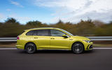 Volkswagen Golf Estate 2020 first drive review - hero side