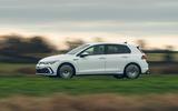 2 Volkswagen Golf GTD 2021 UK first drive review hero side
