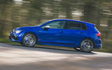 2 Volkswagen Golf R 2021 UK first drive review hero side