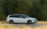 Volkswagen passat Estate R Line 2019 UK review - hero side