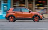 Volkswagen T-Cross 2019 UK first drive review - hero side