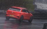 Volkswagen T-Roc R 2020 UK first drive review - hero rear