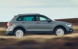 2 Volkswagen Tiguan 2021 UK FD hero side