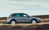 Volkswagen Tiguan Life 2020 UK first drive review - hero side
