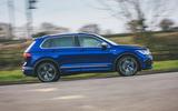 2 Volkswagen Tiguan R 2021 UK first drive review hero side