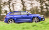 2 Volkswagen Touareg R eHybrid 2021 UK first drive review hero side