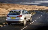 Volkswagen Touareg 2020 UK first drive review - hero rear
