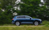 Volkswagen Touareg 3.0 TSI 2019 UK first drive review - hero side
