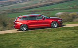 2 Volvo V60 B3 Momentum 2021 UK first drive review hero side