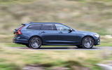 Volvo V90 Recharge T6 2020 UK first drive review - hero side