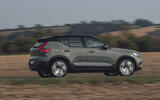 Volvo XC40 P8 Recharge 2020 UK first drive review - hero side