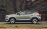 2 Volvo XC40 Recharge P8 2021 UK first drive review hero side