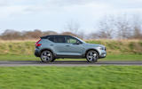 Volvo XC40 Recharge T5 plug-in hybrid 2020 UK first drive review - hero side