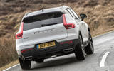 Volvo XC40 T5 2019 UK first drive review - hero rear
