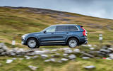 Volvo XC90 B5 petrol 2020 UK first drive review - hero side