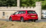 Volkswagen Golf R Estate performance pack 2018 UK review hero rear