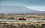 Alfa Romeo Stelvio Quadrifoglio 2018 UK RHD first drive - on the road side