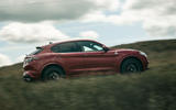 Alfa Romeo Stelvio Quadrifoglio 2020 UK first drive review - on the road side