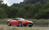 Aston Martin DBS Superleggera Volante 2019 first drive review - on the road front