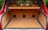 Aston Martin DBX 2020 UK first drive review - boot