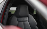 Audi A3 TFSIe 2020 UK first drive review - front seats