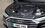 Audi A8 60 TFSIe 2020 UK first drive review - engine